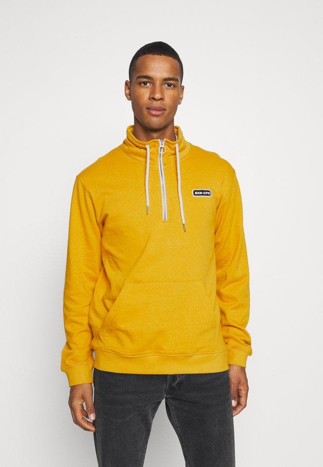 HALF ZIP  - Collegepaita - yellow