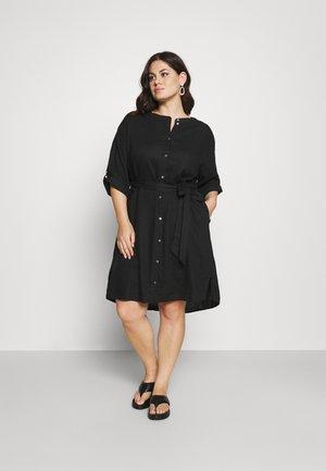 STYLE WITH - Shirt dress - deep black
