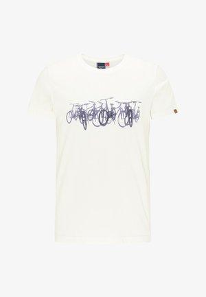 BLAIZE - Print T-shirt - white