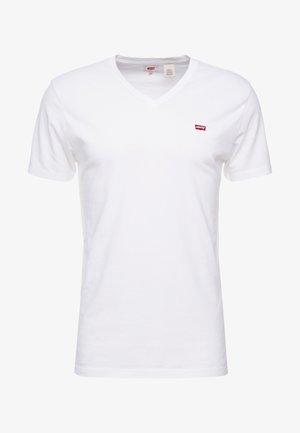 VNECK - Jednoduché triko - white