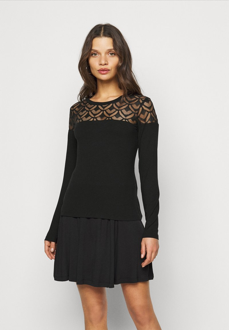 Anna Field Petite - Long sleeved top - black