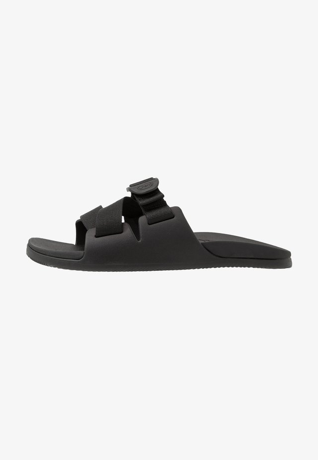 CHILLOS SLIDE - Sandalias planas - black