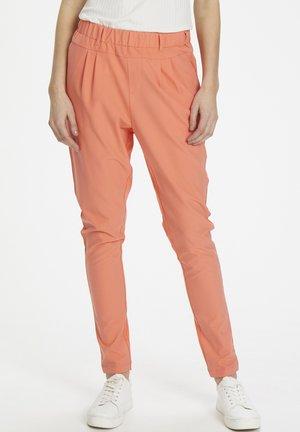 JILLIAN PANTS - Pantalon classique - living coral