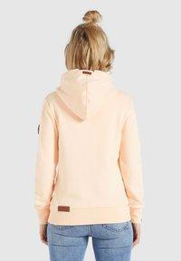 khujo - WANARI - Zip-up sweatshirt - apricot - 2