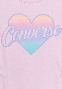 Converse - CINCHED WAIST ROMPER - Overal - pink foam - 2