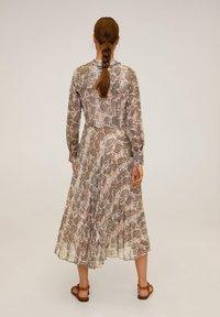 Mango - SERPI - Robe chemise - braun - 1
