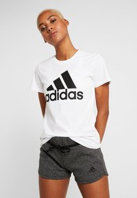 adidas Performance - BOS TEE - T-shirt print - white - 0