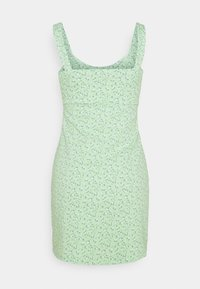Hollister Co. - BARE DRESS - Jerseykjole - pistachio floral - 1