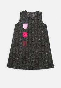Marimekko - KURKISTUS DRESS - Day dress - dark grey/grey - 0