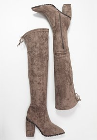 Alma en Pena - High heeled boots - taupe - 3