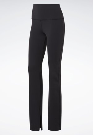REEBOK LUX BOOTCUT TIGHTS 2.0 - Pantalones - black