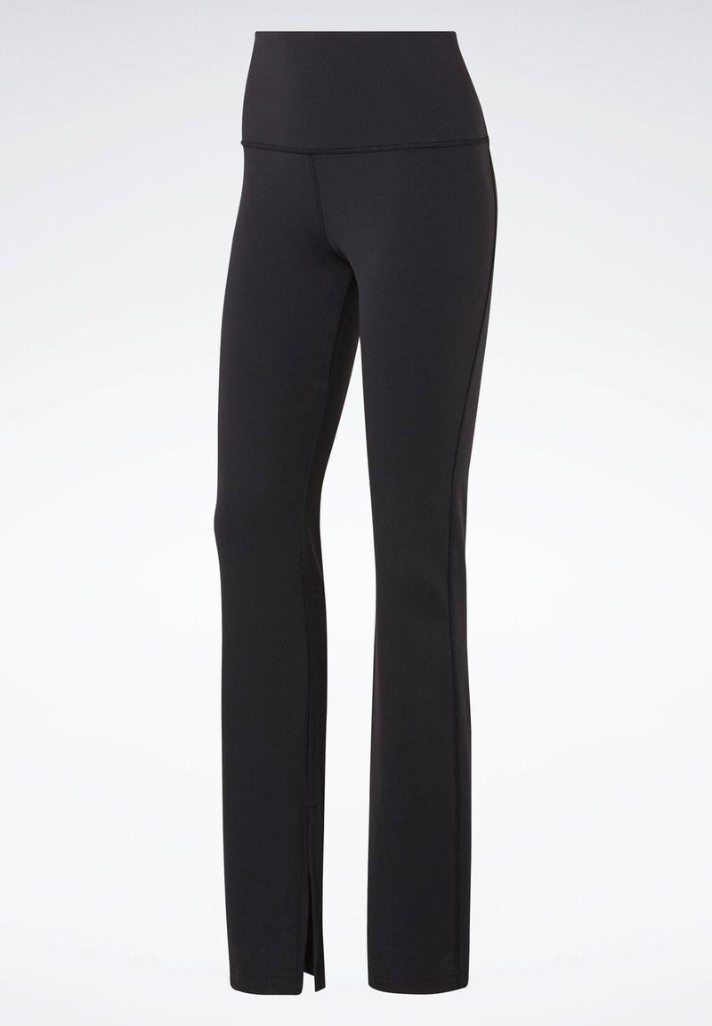 Reebok - REEBOK LUX BOOTCUT TIGHTS 2.0 - Trousers - black