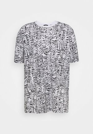 ONSADRIEL LIFE TEE  - Print T-shirt - white