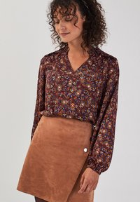 Cache Cache - ASYMMETRISCHER  - A-line skirt - marron clair - 3