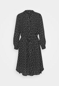 Selected Femme Tall - SLFDAMINA 7/8 DRESS - Hverdagskjoler - black - 4