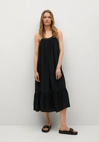 Mango - VALE - Cocktail dress / Party dress - schwarz - 0