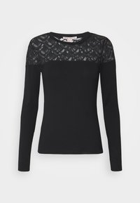 Anna Field Tall - LONGSLEEVE - Long sleeved top - black - 0