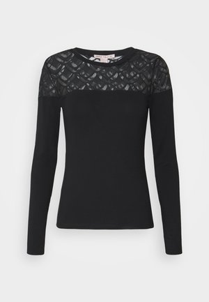 LONGSLEEVE - Long sleeved top - black