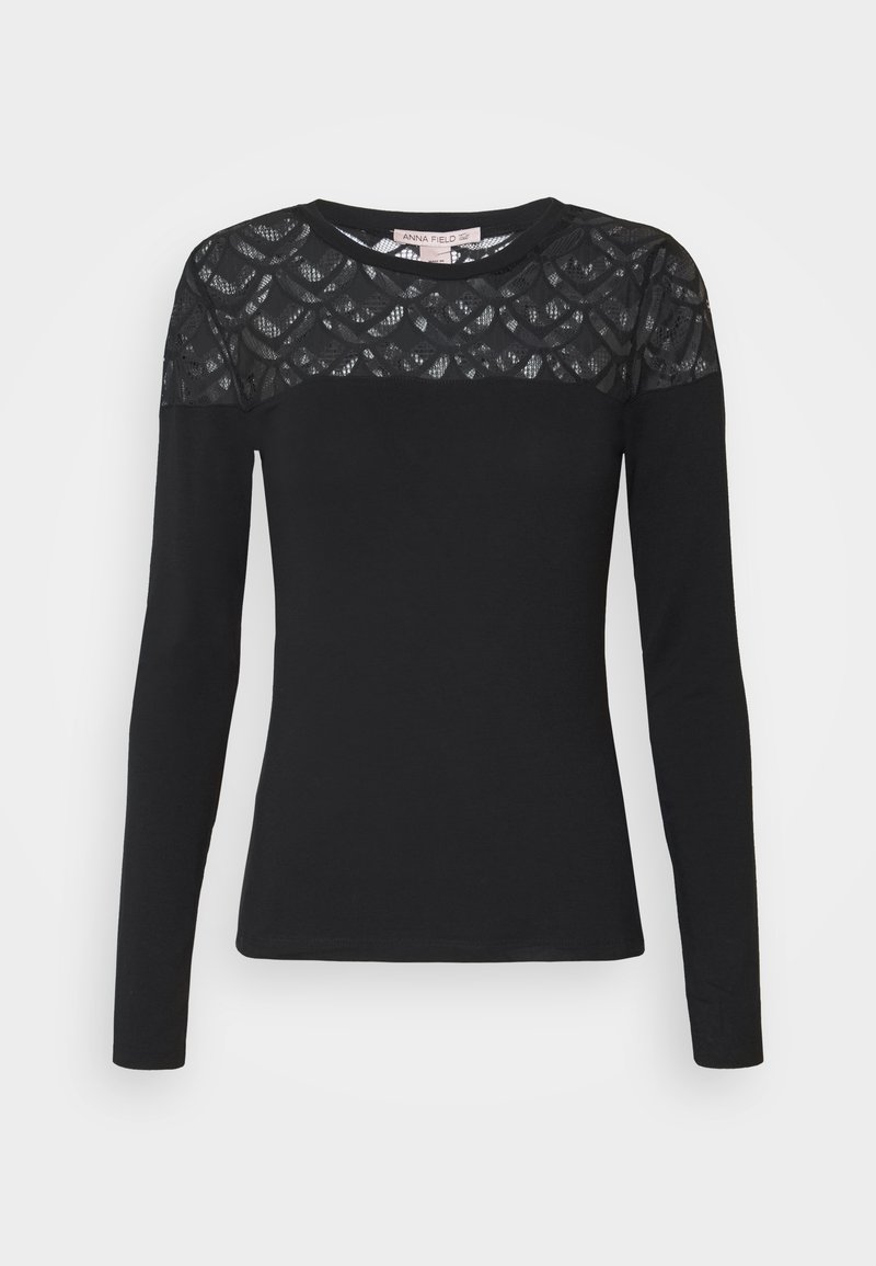 Anna Field Tall - LONGSLEEVE - Long sleeved top - black