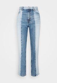 Monki - Straight leg jeans - blue medium dusty - 4