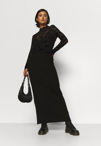 Even&Odd - Long sleeved top - black - 1