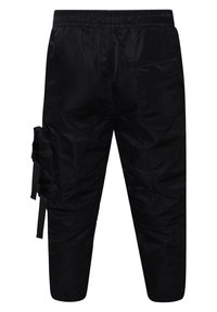 Ed Hardy - TIGER-BELLOWS PANT - Cargo trousers - black - 2