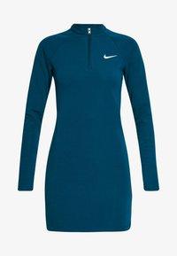 Nike Sportswear - W NSW ESSENTIAL LS - Vestido de tubo - valerian blue/(white) - 5