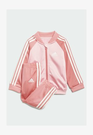 3 STRIPES TRICOT TRACKSUIT - Dres - pink
