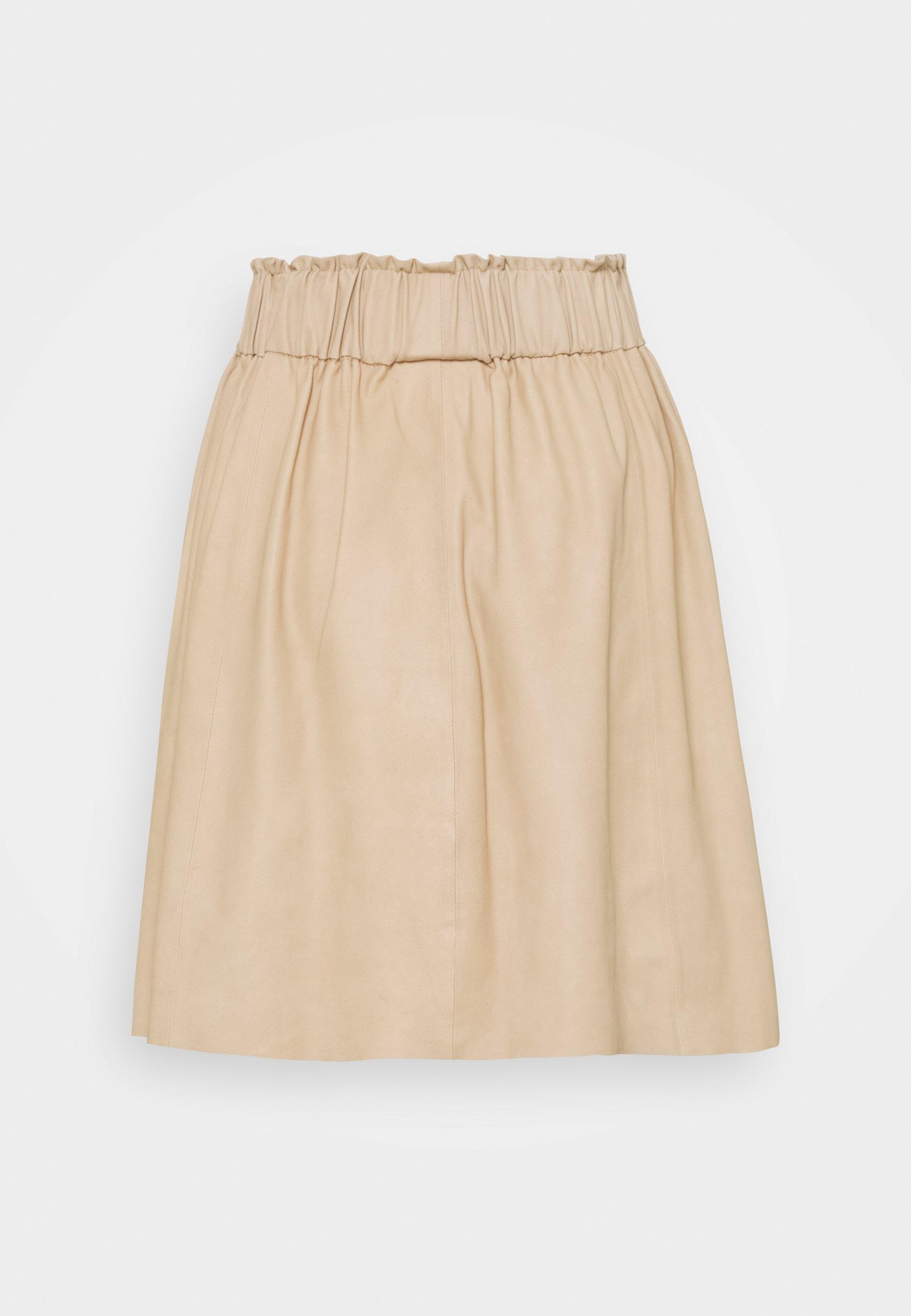 Women SKIRT - Leather skirt