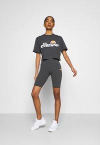 Ellesse - ALBERTA - T-shirts print - dark grey marl - 1