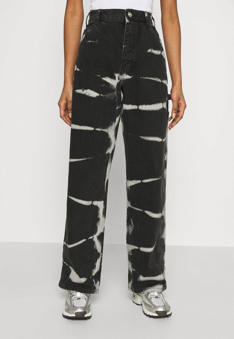 BDG Urban Outfitters - JUNO JEAN - Straight leg jeans - tie dye