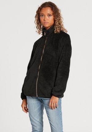 PHEELIN PHUZZY  - Zip-up sweatshirt - black