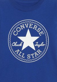 Converse - CORE CHUCK PATCH TEE  - Camiseta estampada - blue - 3