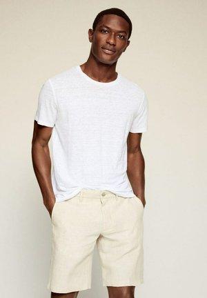REGULAR-FIT  - T-shirt basique - wit