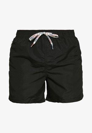 JJIARUBA SWIMSHORTS ZIP - Swimming shorts - black
