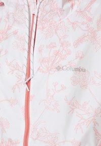 Columbia - FLASH FORWARD PRINTED - Windbreaker - white - 4