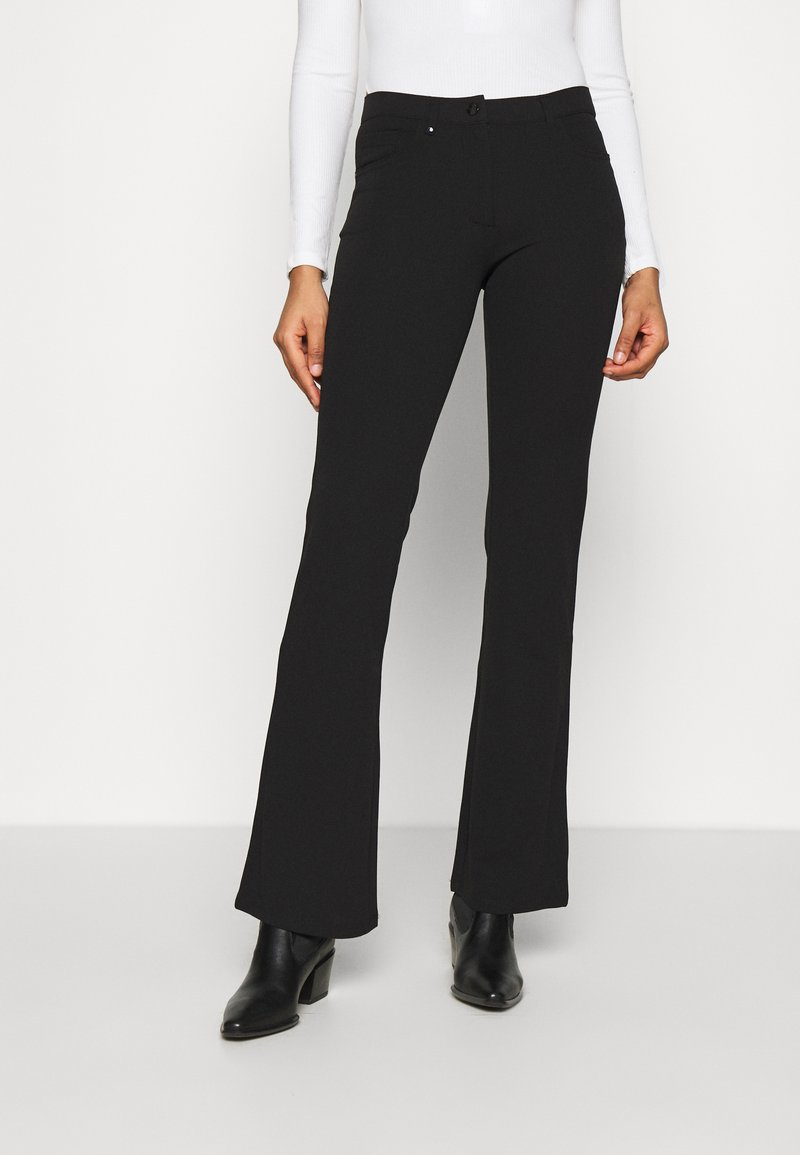 JDY - JDYCATIA FLARE - Trousers - black