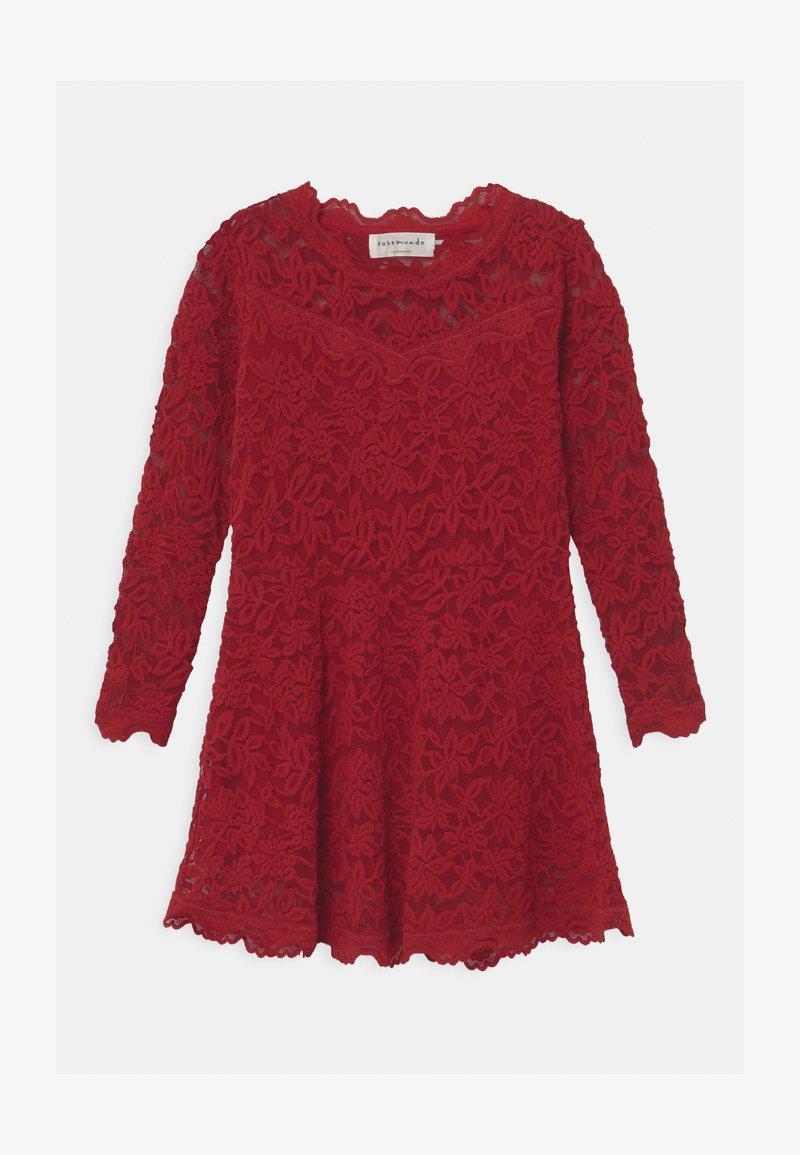 Rosemunde - LACE - Koktejlové šaty/ šaty na párty - cranberry