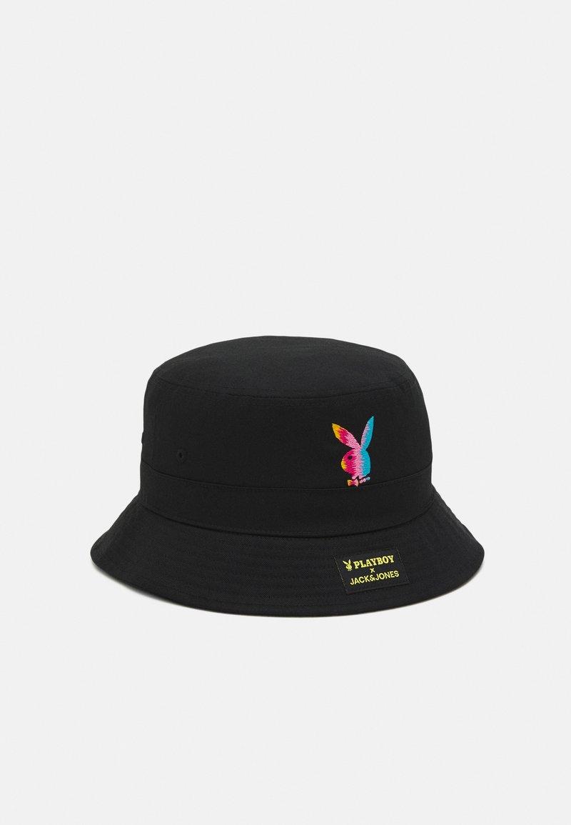 Jack & Jones - JACPLAYER BUCKET HAT - Hatt - black
