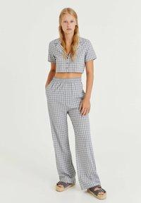 PULL&BEAR - Kalhoty - light grey - 1