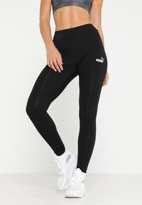 Puma - LEGGINGS - Leggings - black - 0