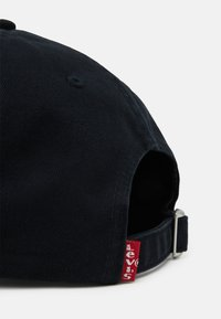 Levi's® - WASHED DEBOSSED BIG BATWING CAP UNISEX - Caps - regular black - 3