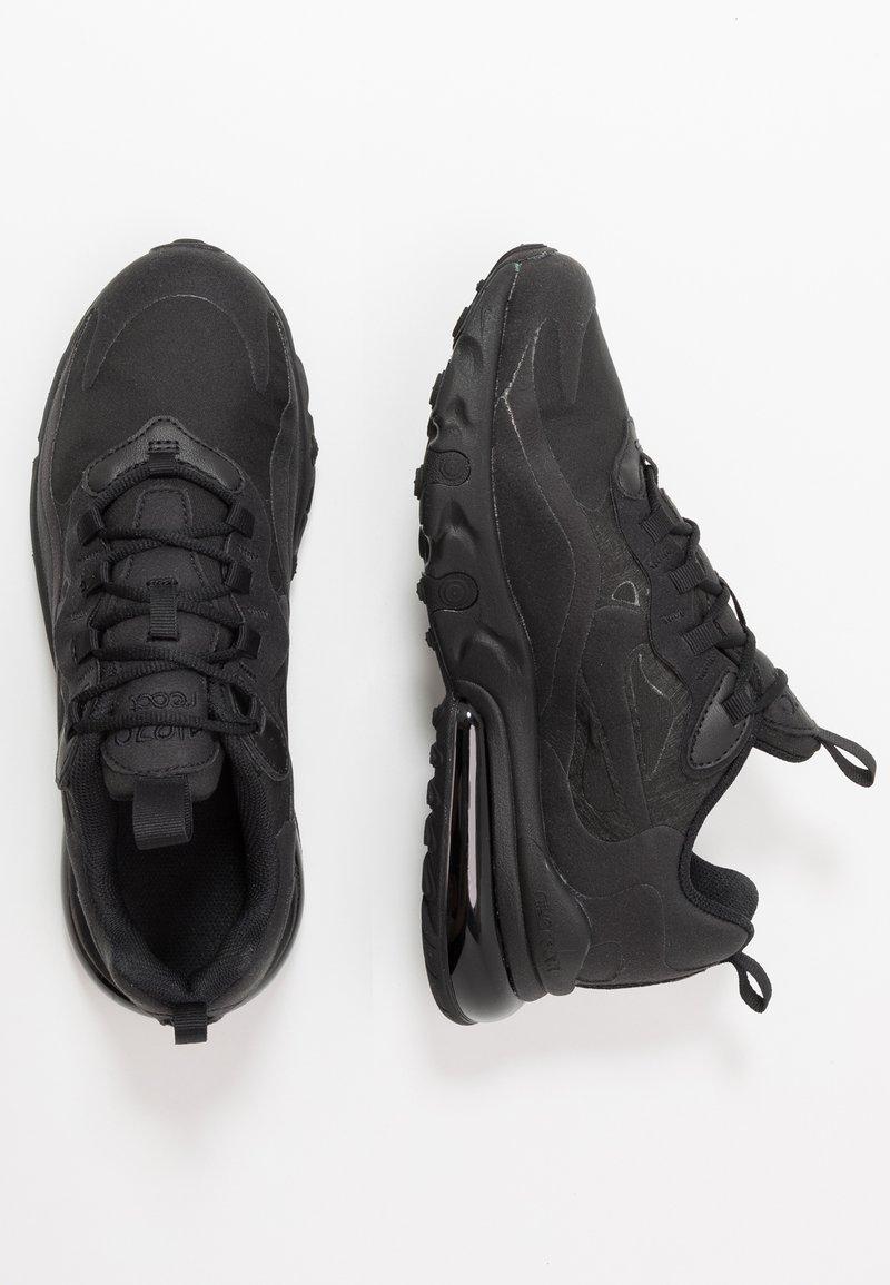 Nike Sportswear - AIR MAX 270 REACT - Sneakers basse - black