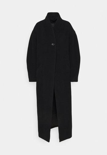 CAMERON - Klasický kabát - black