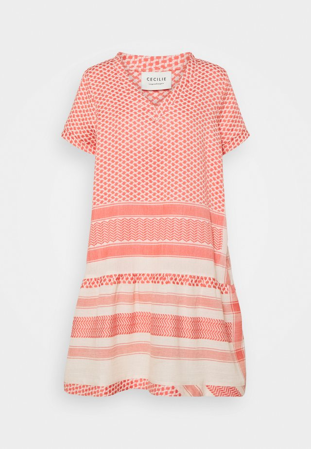 DRESS - Robe d'été - dew/emberglow