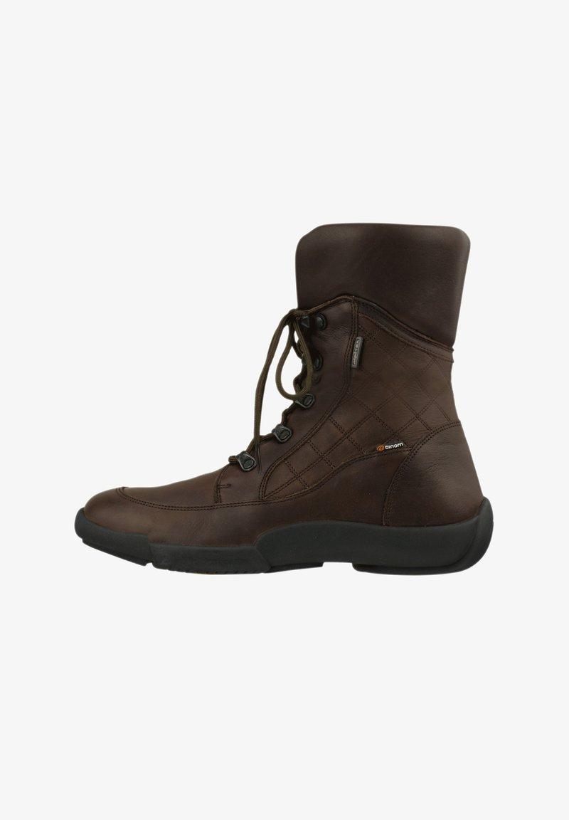 Binom - ANTONIA - Lace-up ankle boots - braun