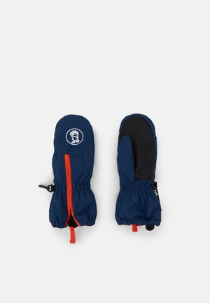 KIDS TROLL MITTEN UNISEX - Palčáky - mystic blue/orange