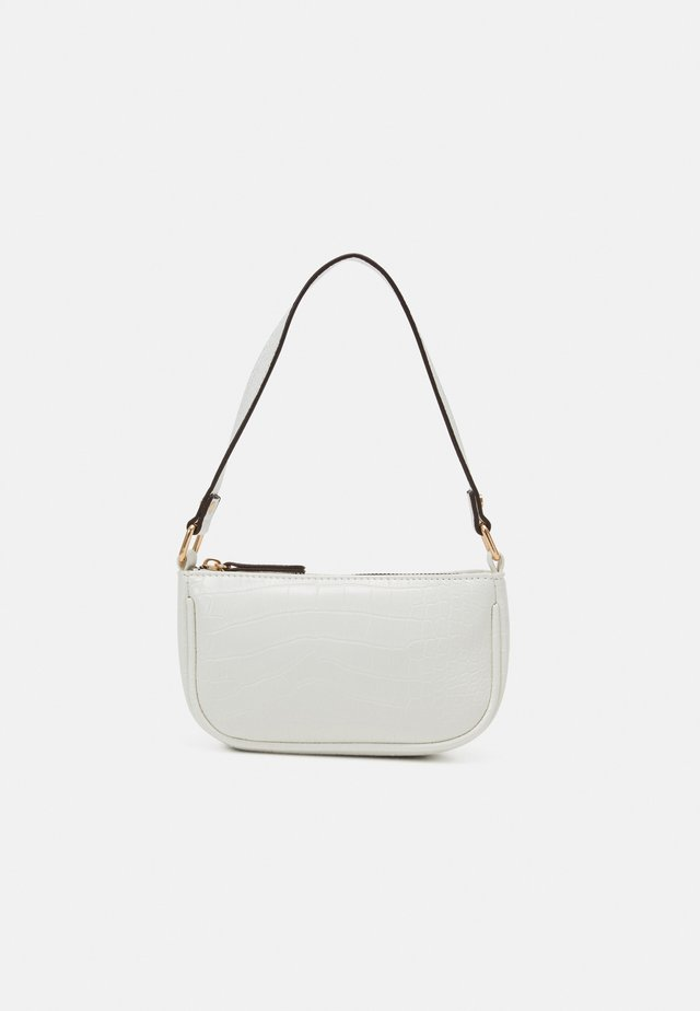 BRENDA CROC MINI SHOULDER BAG - Handbag - white