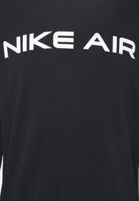 Nike Sportswear - AIR CREW - Sweatshirt - black/dk smoke grey/white - 5