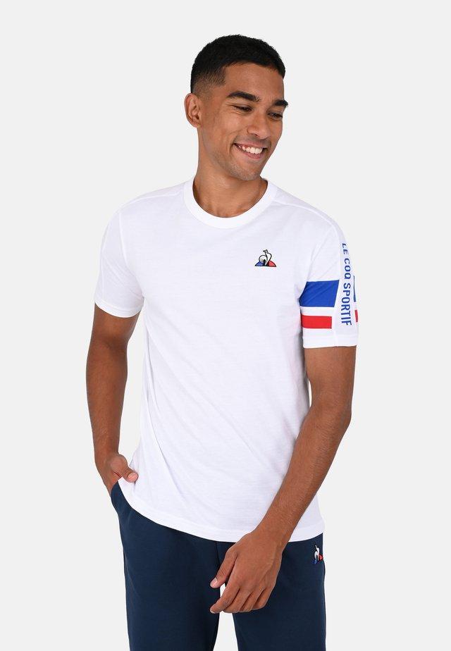 TRI TEE - Print T-shirt - white